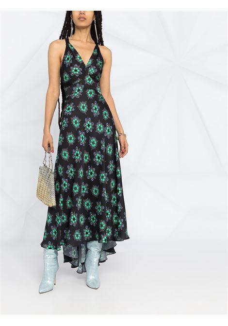 Flower print dress PACO RABANNE | 21PCR0311P00208V065