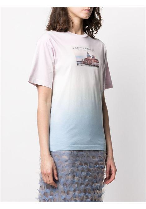 Gradient effect T-shirt PACO RABANNE | 21PJTE041C00378M444