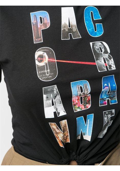 Logo-print T-shirt PACO RABANNE | 21PJTE068C00378P001