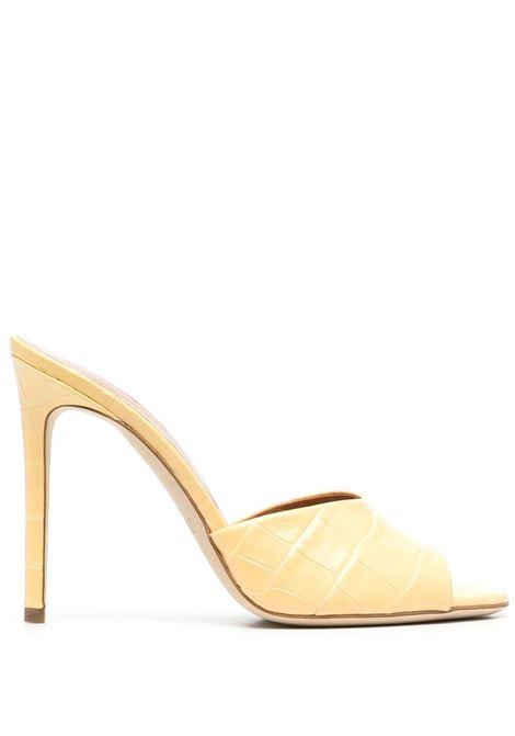 Croc-effect sandals PARIS TEXAS | Mules | PX507XCOCOETNIC21
