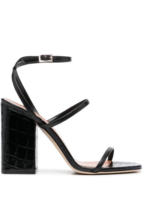 Paris texas sandali con fibbia donna nero PARIS TEXAS | Sandali | PX581XNPPCNR