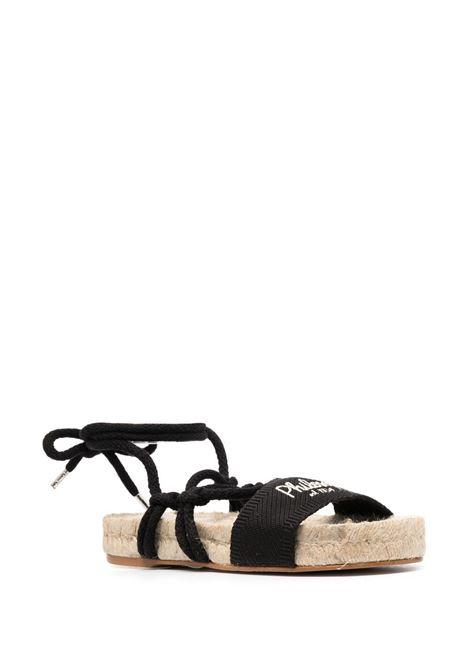 Sandali con decorazione Donna PHILOSOPHY DI LORENZO SERAFINI X MANEBI | A63028207555