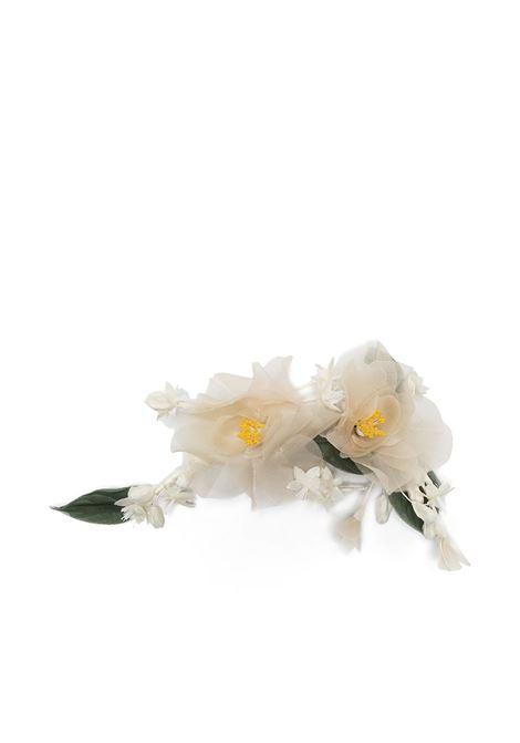 Philosophy Di Lorenzo Serafini spilla a fiore donna fantasia bianco PHILOSOPHY DI LORENZO SERAFINI | Spille | A380521811002