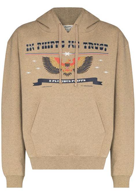 Phipps graphic-print sweatshirt men sand PHIPPS | PHSS21N181J001SND