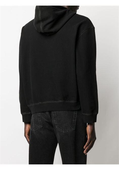 Phipps graphic-print sweatshirt men washed black PHIPPS | PHSS21N181J001WSHDBLK
