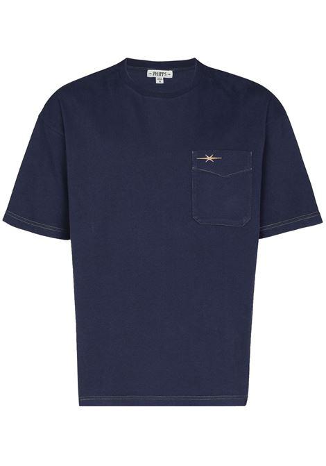 Phipps t-shirt con logo uomo navy PHIPPS | T-shirt | PHSS21N20AJ002NV