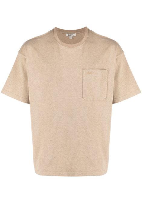 Phipps t-shirt con taschino uomo sand PHIPPS | T-shirt | PHSS21N20AJ002SND