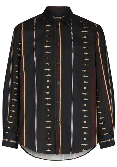 Phipps rodeo shirt men rodeo stripe PHIPPS | PHSS21S02AC004RDSTRP