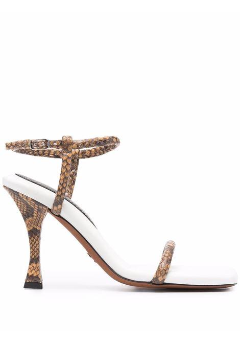 Proenza schouler sandali pipe donna natural white PROENZA SCHOULER | Sandali | PS36021A13011130