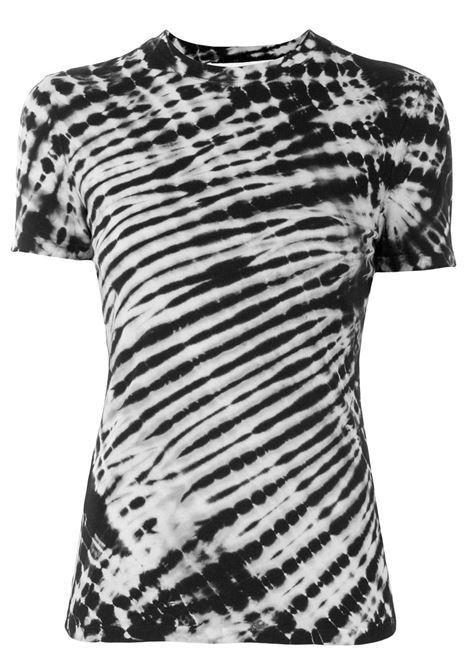 Proenza schouler t-shirt con fantasia tie dye donna black nude PROENZA SCHOULER | T-shirt | WL211422810258