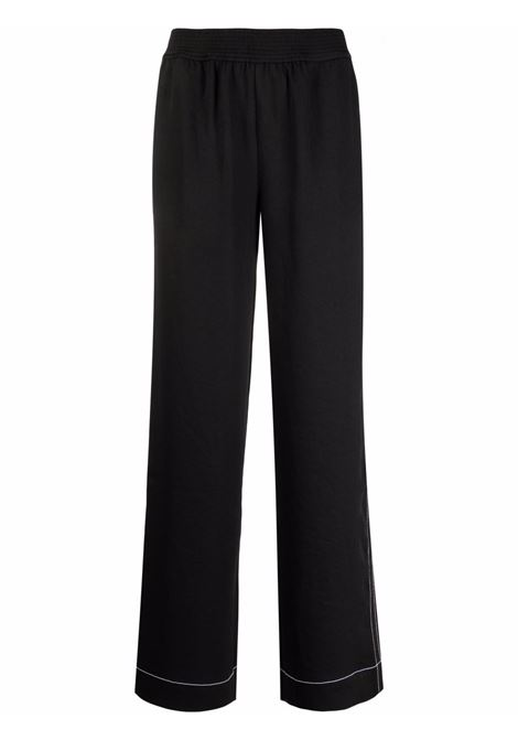 Proenza schouler pantaloni a gamba ampia donna black spanish moss PROENZA SCHOULER | Pantaloni | WL2125048061