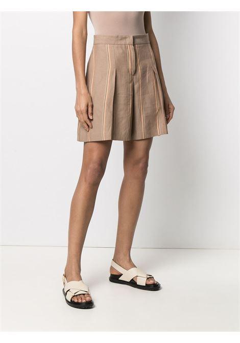 Shorts sartoriali a righe Donna PT01   BSRMZ00STDLG030060