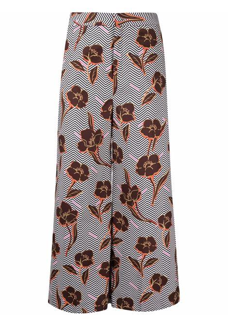 Pantaloni a fiori donna PT01   Pantaloni   VSMIZ00STDAP800990