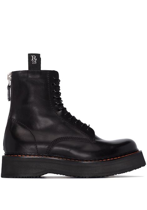 Stack 40 military boots R13 | Ankle-Boots | R13S0002018150