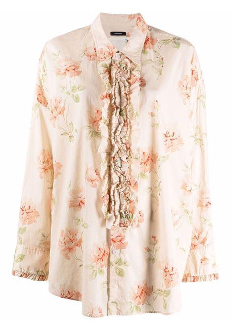 Camicia a fiori multicolore - donna R13 | R13W7471D8PR531A