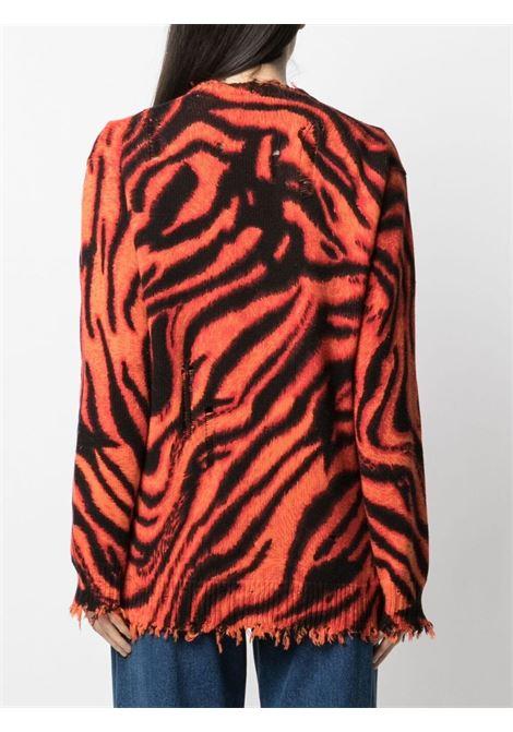 Distressed-knit cardigan R13   R13W942454830Z