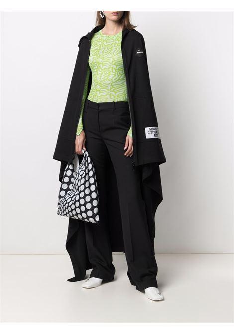 Mantella con cappuccio nero - donna RAF SIMONS | 211182190030099