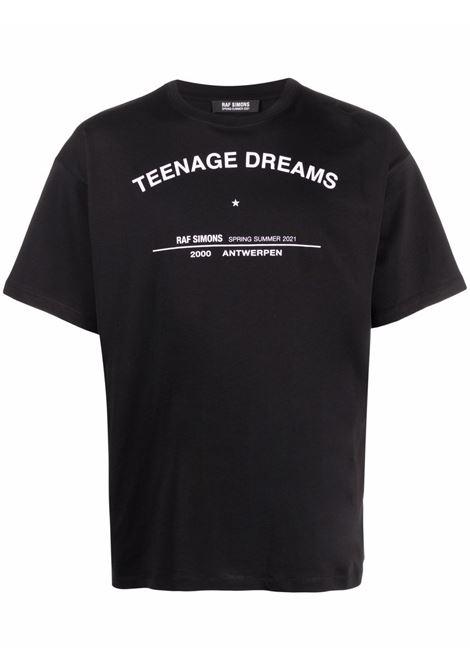 T-shirt con stampa uomo RAF SIMONS | T-shirt | 211M125190010099