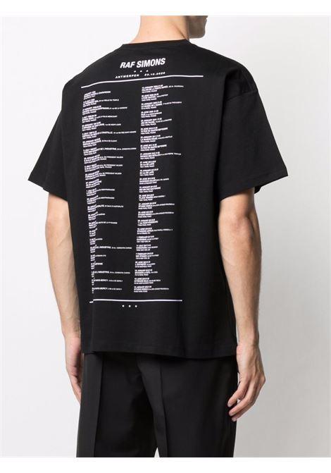T-shirt con stampa uomo RAF SIMONS | 211M125190010099