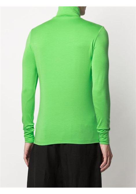 Raf simons logo jumper men bright green RAF SIMONS | 211M149190160028