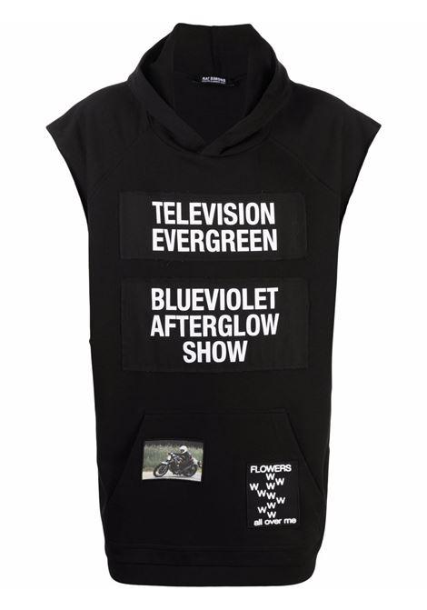 Felpa television evergreen uomo RAF SIMONS | Felpe | 211M195B190030099