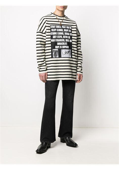 Graphic-print jumper RAF SIMONS | A014011901101399