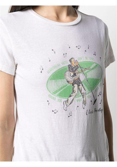 T-shirt Elvis Presley Donna RE/DONE   0242WCGT159VNTGWHT