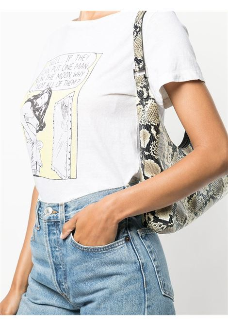 T-shirt con stampa donna RE/DONE   0242WCGT176VNTGWHT