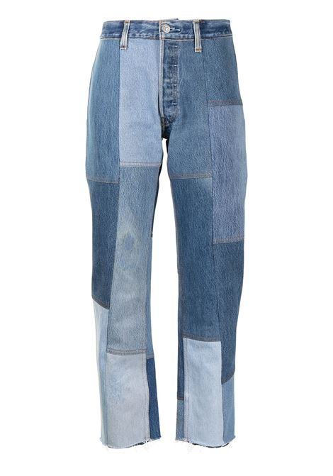 Re/done patchwork jeans women indigo RE/DONE | Jeans | 1186PJINDG