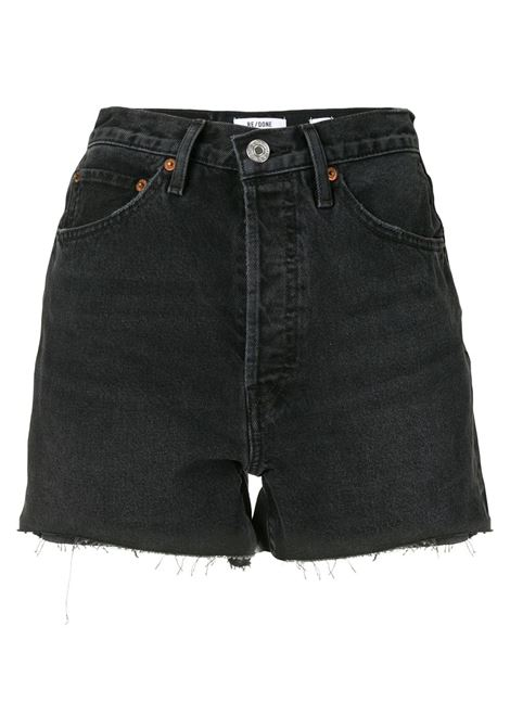 Denim shorts women  RE/DONE | Shorts | 1663W5CODSTRYDBLK