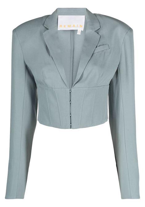 Remain camicia con spalle strutturate donna lead REMAIN | Camicie | RM017174408