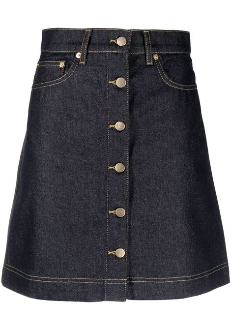 Remain skirt dark blue denim women REMAIN | Skirts | RM174193927
