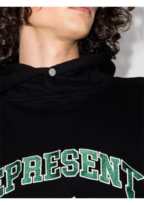 Represent logo sweatshirt  men black REPRESENT | M0409601