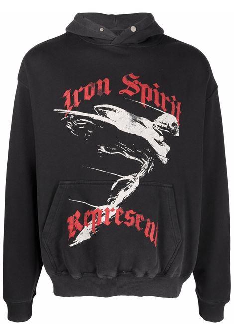Represent graphic-print sweatshirt men vintage black REPRESENT | Sweatshirts | M0411603