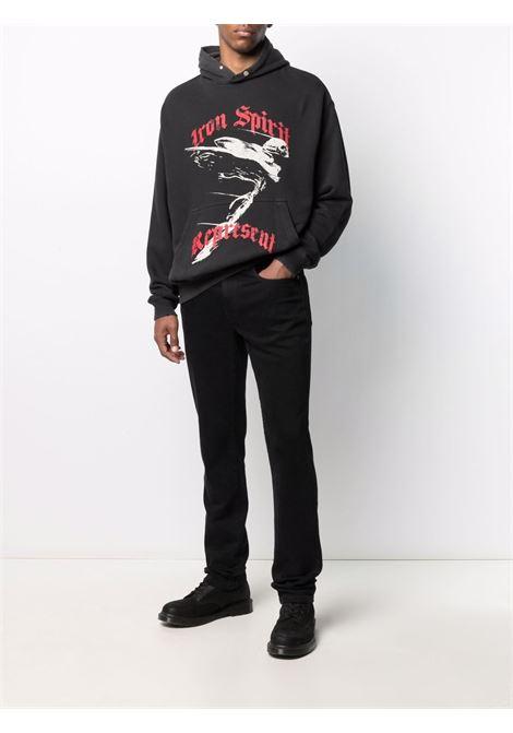 Represent graphic-print sweatshirt men vintage black REPRESENT | M0411603