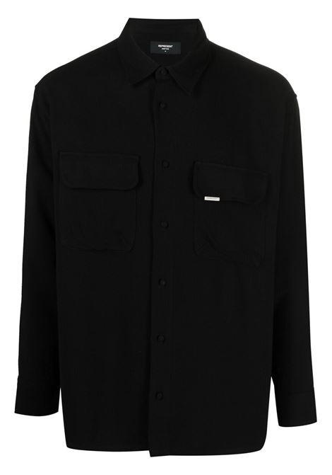 Represent shirt black men REPRESENT | Shirts | M0604501