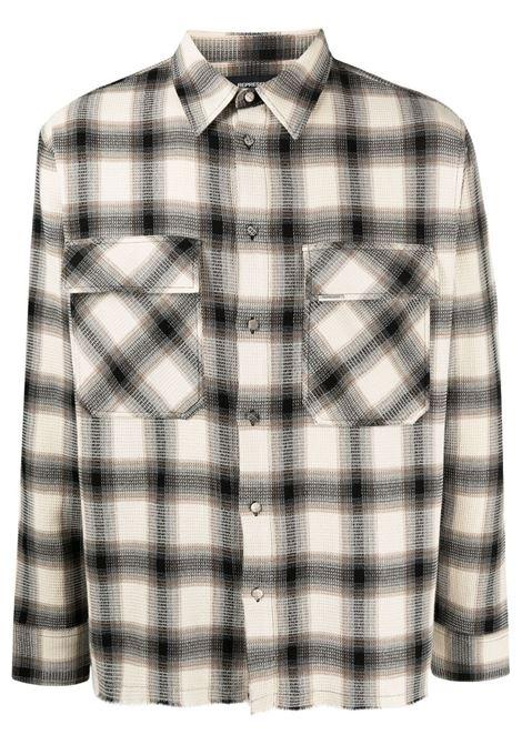 Represent shirt custom waffle men REPRESENT | Shirts | M0604975
