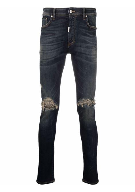 Represent distressed jeans men classic blue REPRESENT | Jeans | M0704424