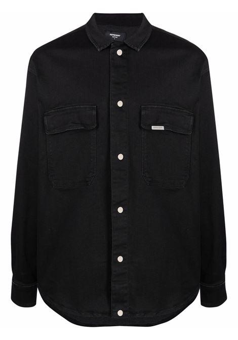 Represent button-up shirt men black REPRESENT | Shirts | M0706501