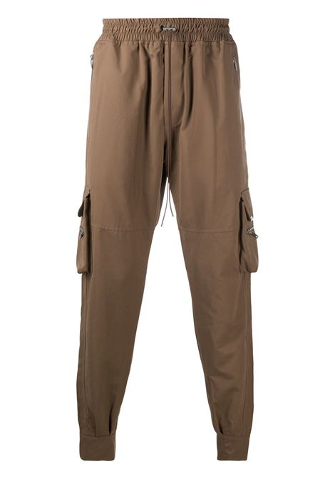 Represent cargo track pants men brown  REPRESENT | Trousers | M0805204