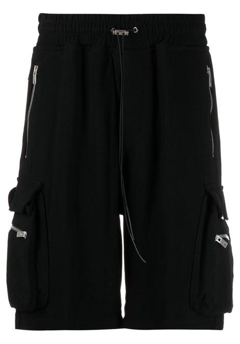Represent cargo bermuda men black  REPRESENT | Bermuda Shorts | M0901901