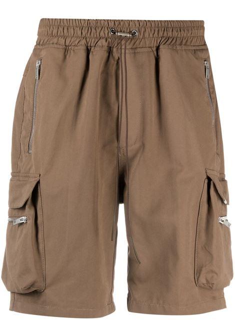Represent cargo bermuda men brown  REPRESENT | Bermuda Shorts | M0901904