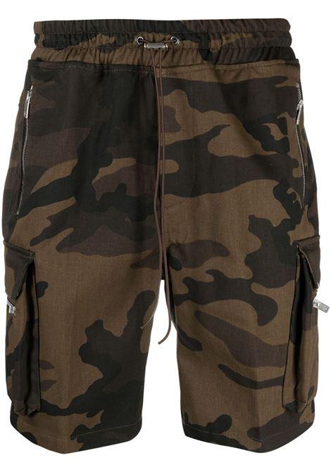 Represent bermuda con stampa camouflage uomo brown camo REPRESENT | Bermuda | M0901909