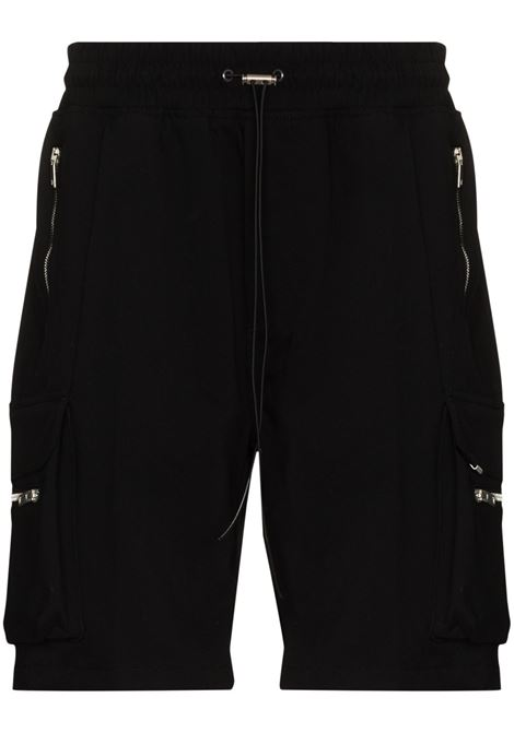 Represent Knee-length cargo bermuda men black  REPRESENT | Bermuda Shorts | M0901988