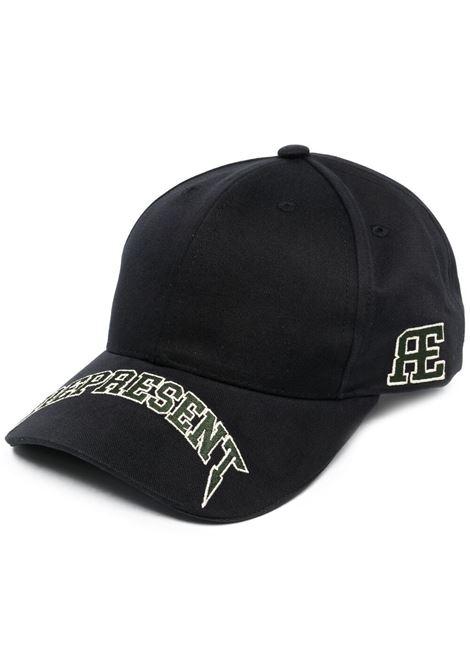 Represent cappello con logo uomo jet black REPRESENT | Cappelli | M1005401