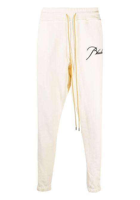 Pantalone con ricamo Uomo RHUDE | Pantaloni | RHPS21PA000000080349
