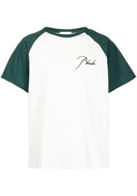 Tshirt con stampa Uomo RHUDE | T-shirt | RHPS21TT000000130365