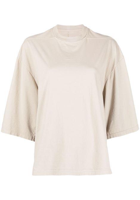 Rick Owens Drkshdw t-shirt donna pearl RICK OWENS DRKSHDW | T-shirt | DS21S2202RN08