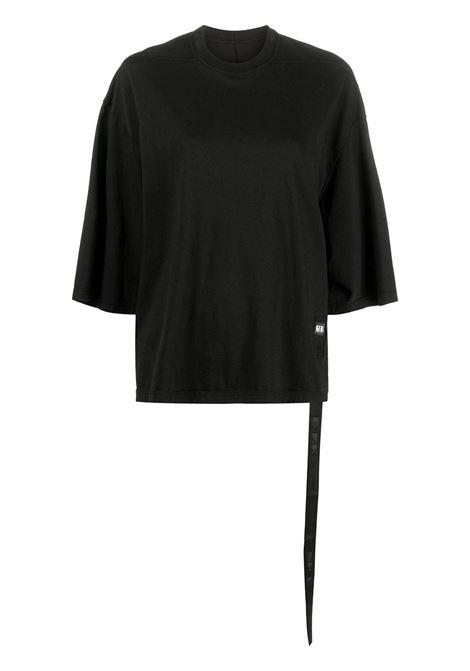 Rick Owens Drkshdw t-shirt donna black RICK OWENS DRKSHDW | T-shirt | DS21S2202RN09