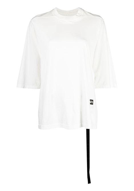 Rick Owens Drkshdw t-shirt con logo donna milk RICK OWENS DRKSHDW | T-shirt | DS21S2203RN11